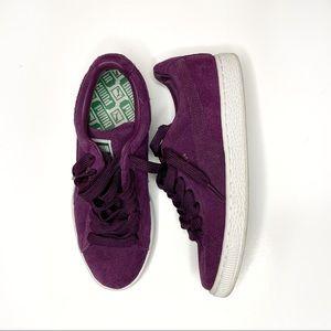 Classic Plum Puma Sneakers